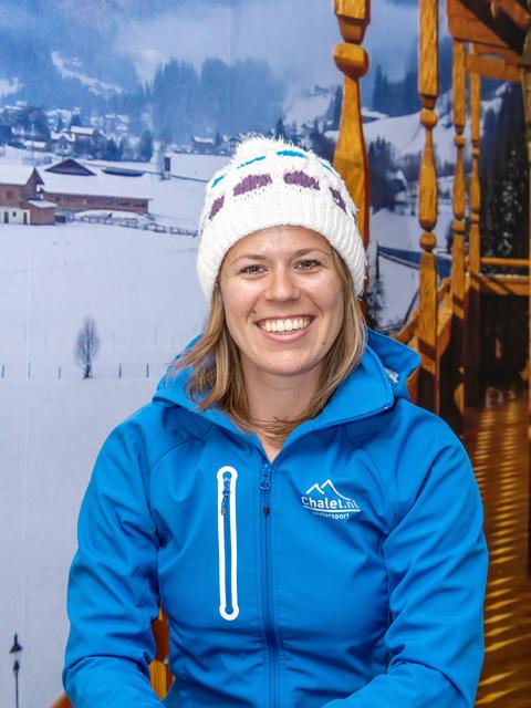 Reisgids Elise wintersport groepsreis Chalet.be