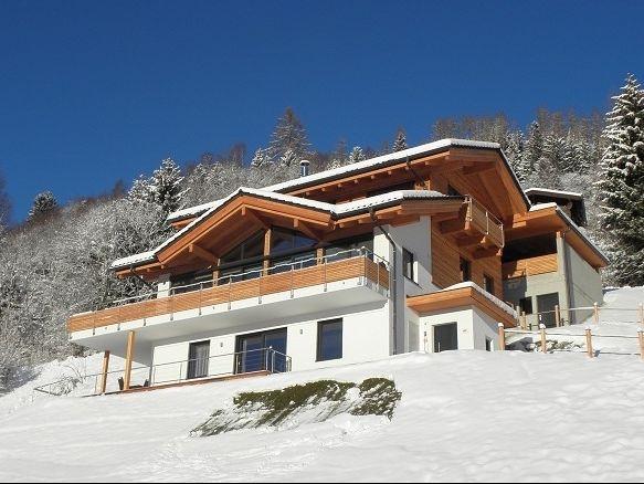 Chalet-appartement Alpenchalet am Wildkogel Gehele chalet met wellnessruimte - 12-14 personen
