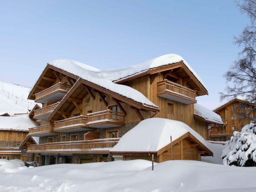 Chalet-appartement CGH Le Cristal de l'Alpe - 6-8 personen
