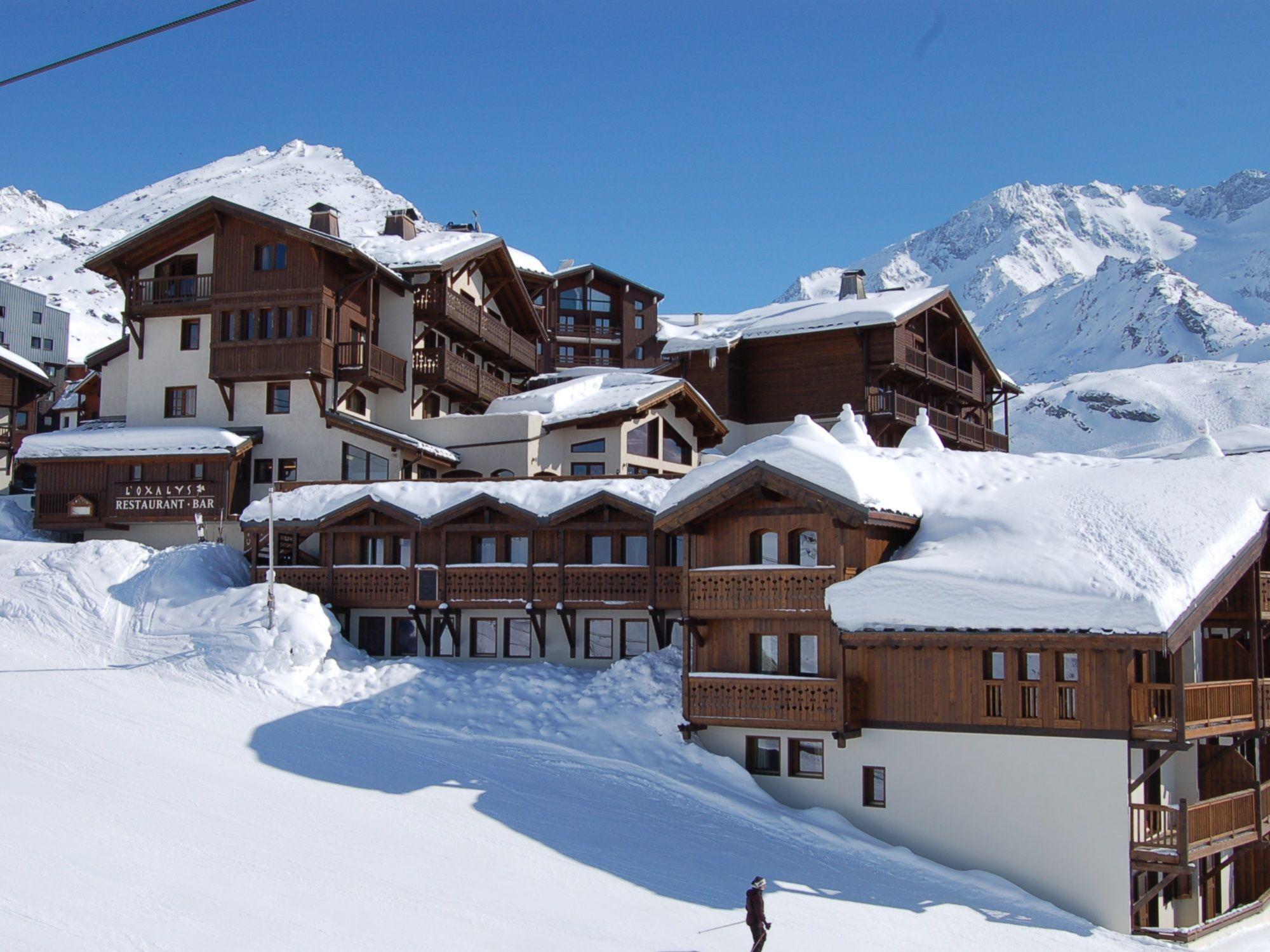 Chalet-appartement Montagnettes Oxalys met sauna - 6 personen
