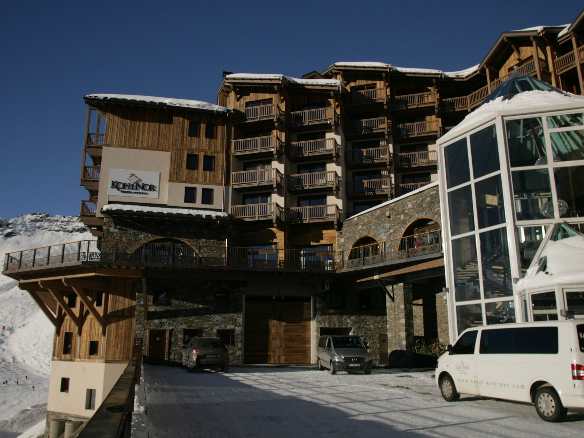 Chalet-appartement Koh-i Nor type B - 49 m² - 4 personen