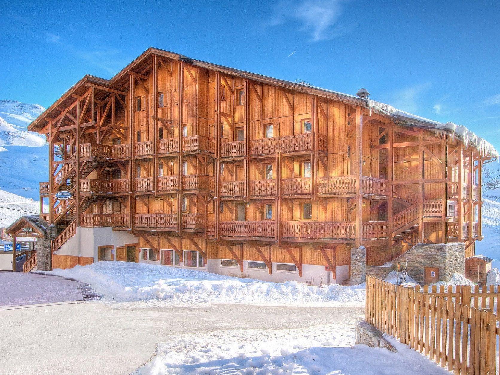 Chalet-appartement Le Val Chavière met sauna - 12-14 personen