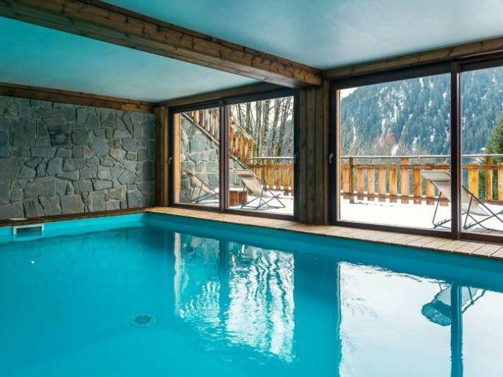 Prive Sauna Zwembad.Vuargnes In Chatel Boeken Chalet Be