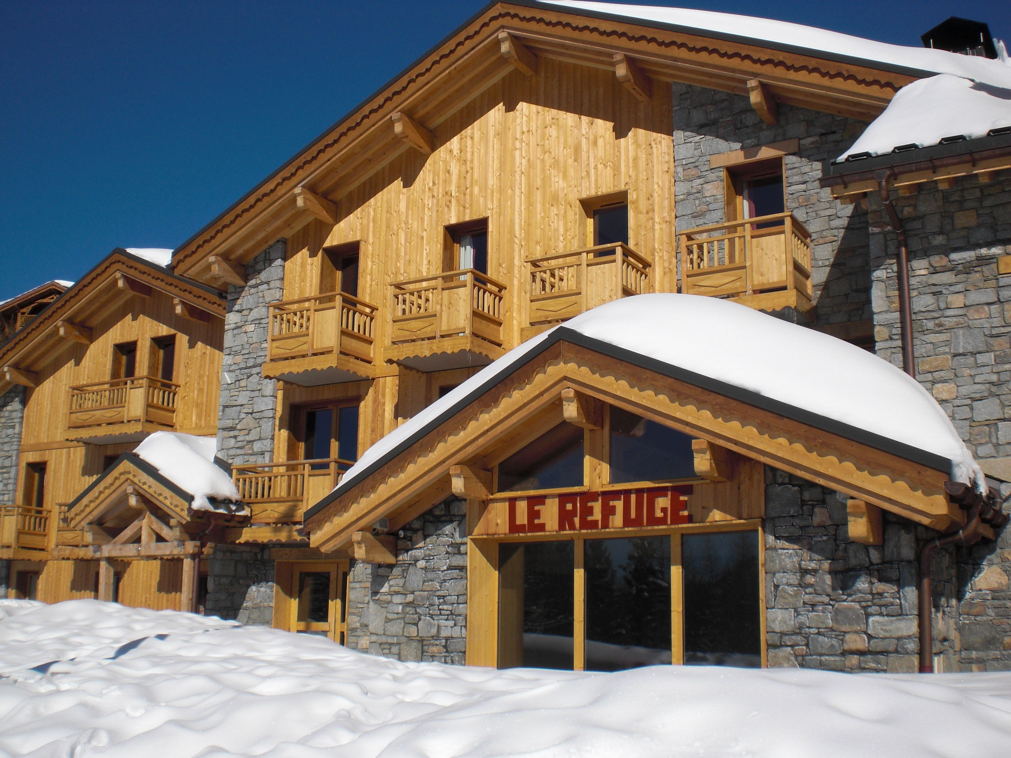 Chalet-appartement Altitude Le Refuge - 8-10 personen