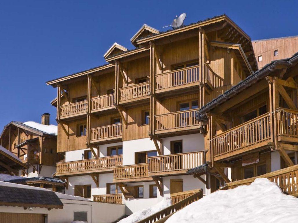 Chalet-appartement Montagnettes Hameau du Soleil met cabine - 10 personen
